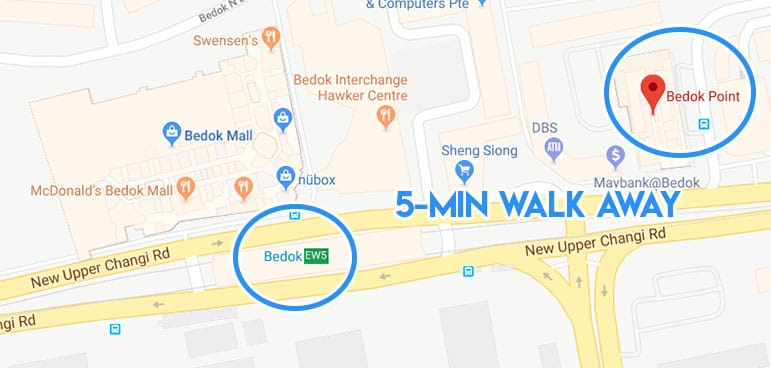 bedok point google maps