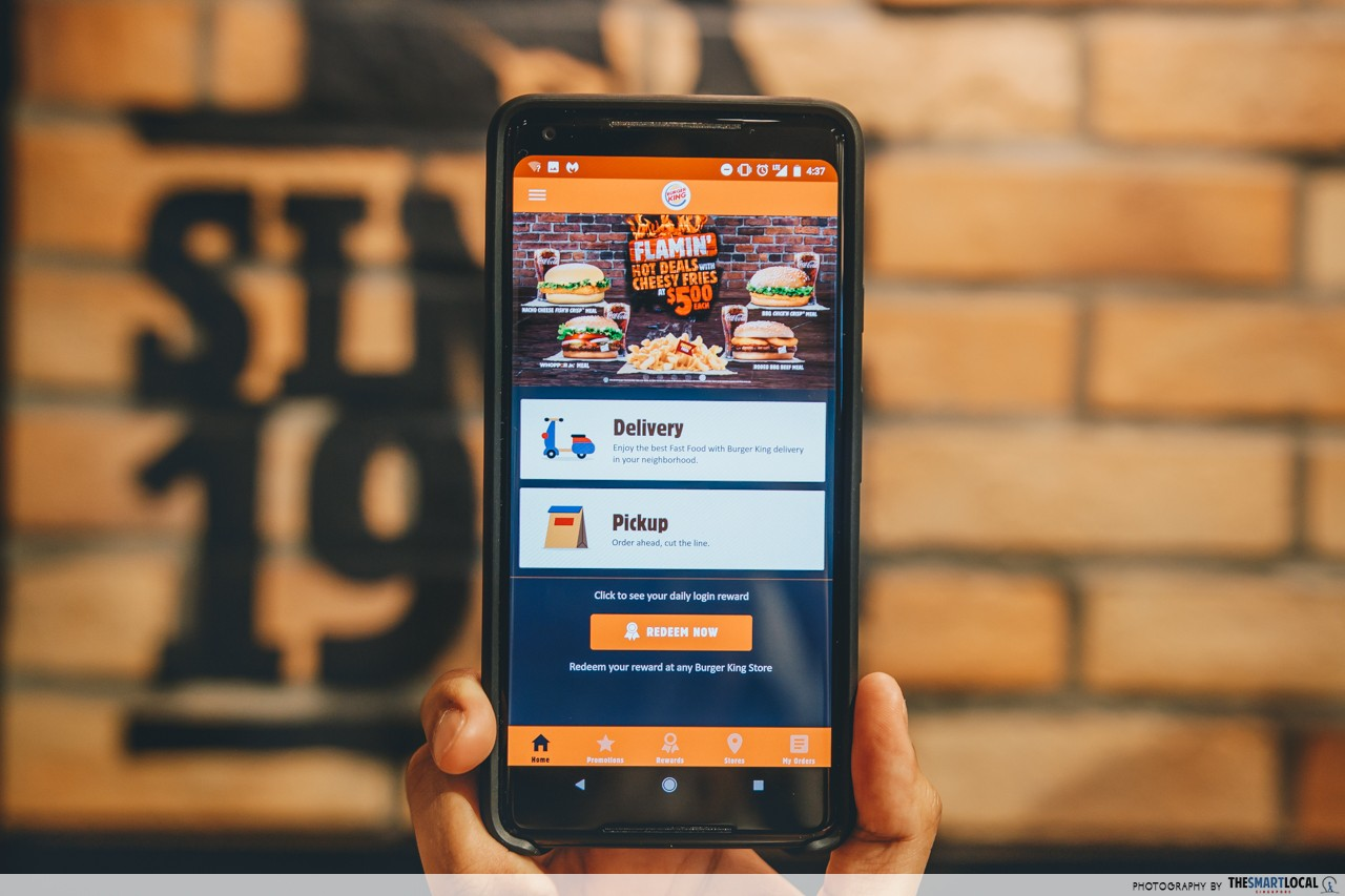 Burger King's New App Lets You Order In Advance And Get