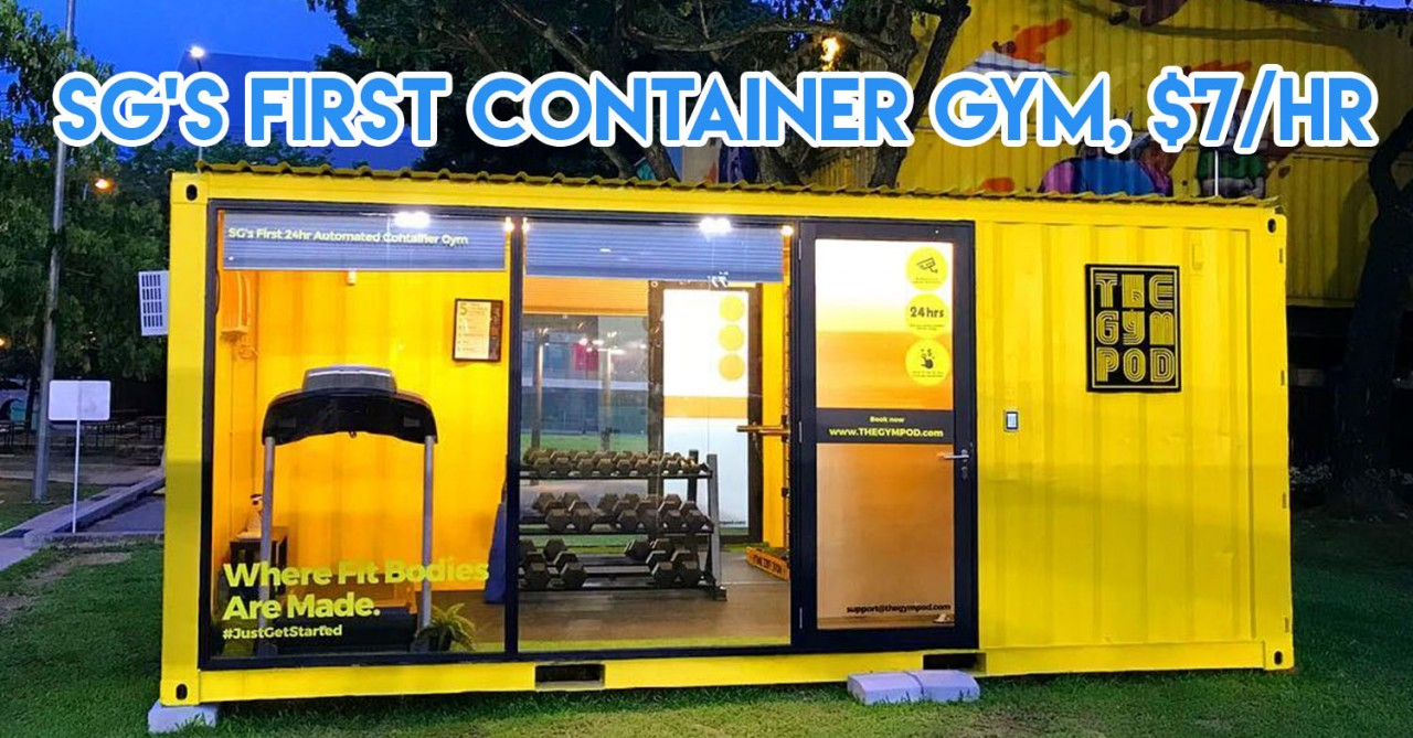 container gym cover image