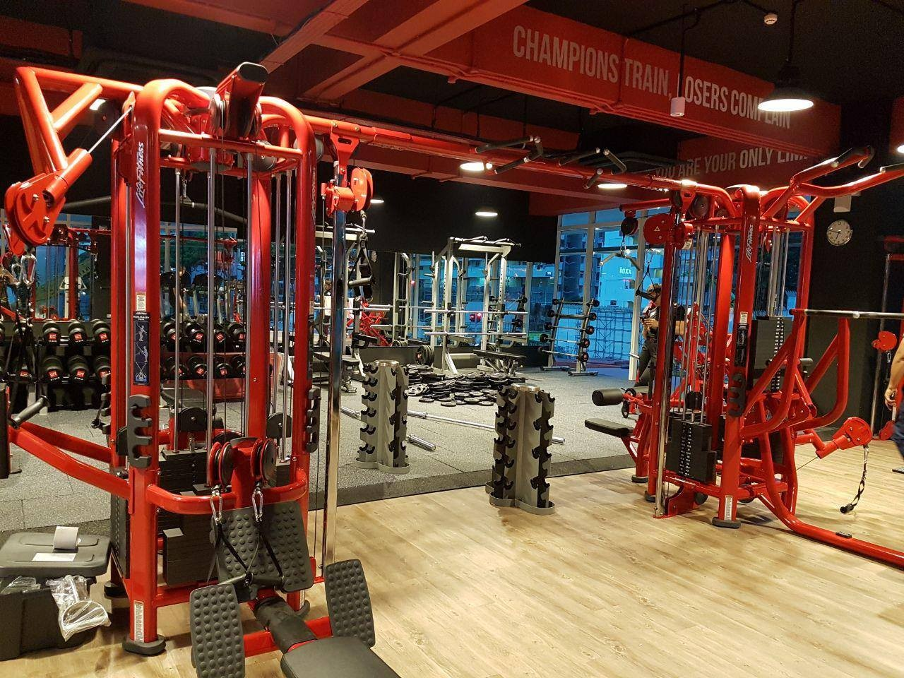 Pay per use gyms in singapore from entry for fitness