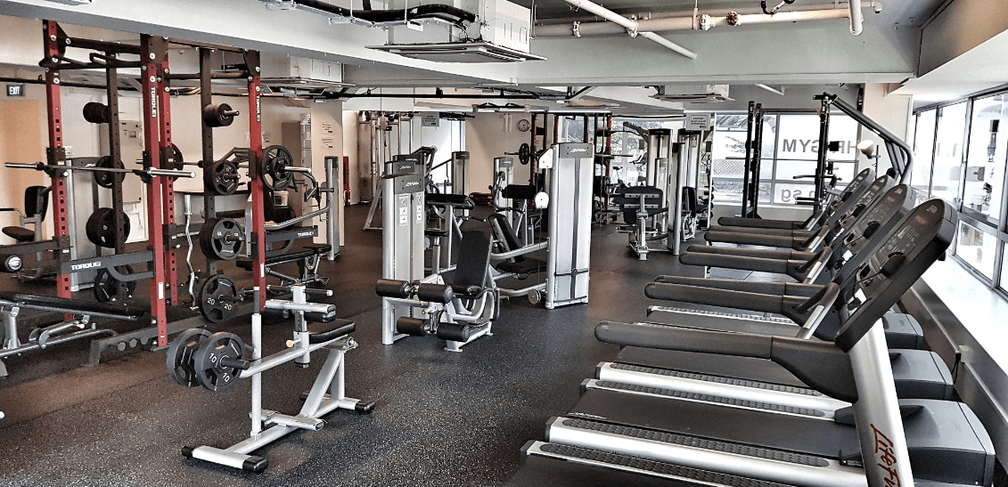 the gym equipment overview