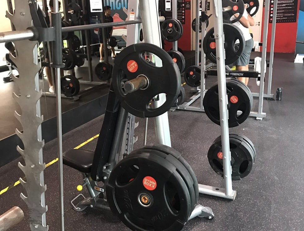 gymmboxx weight plates