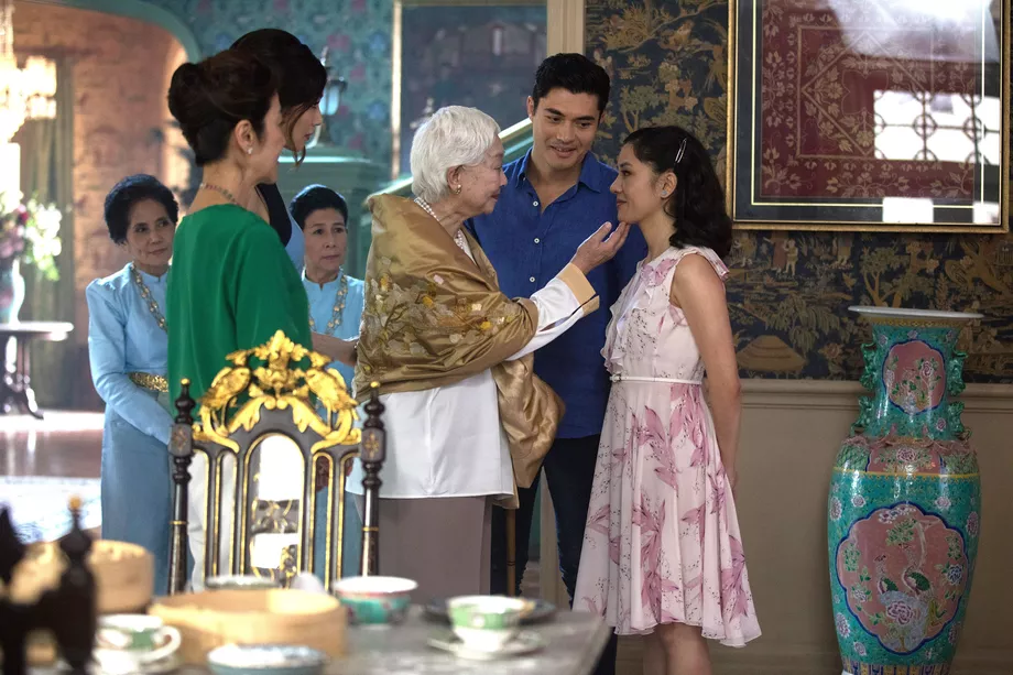 crazy rich asians grandmother su yi