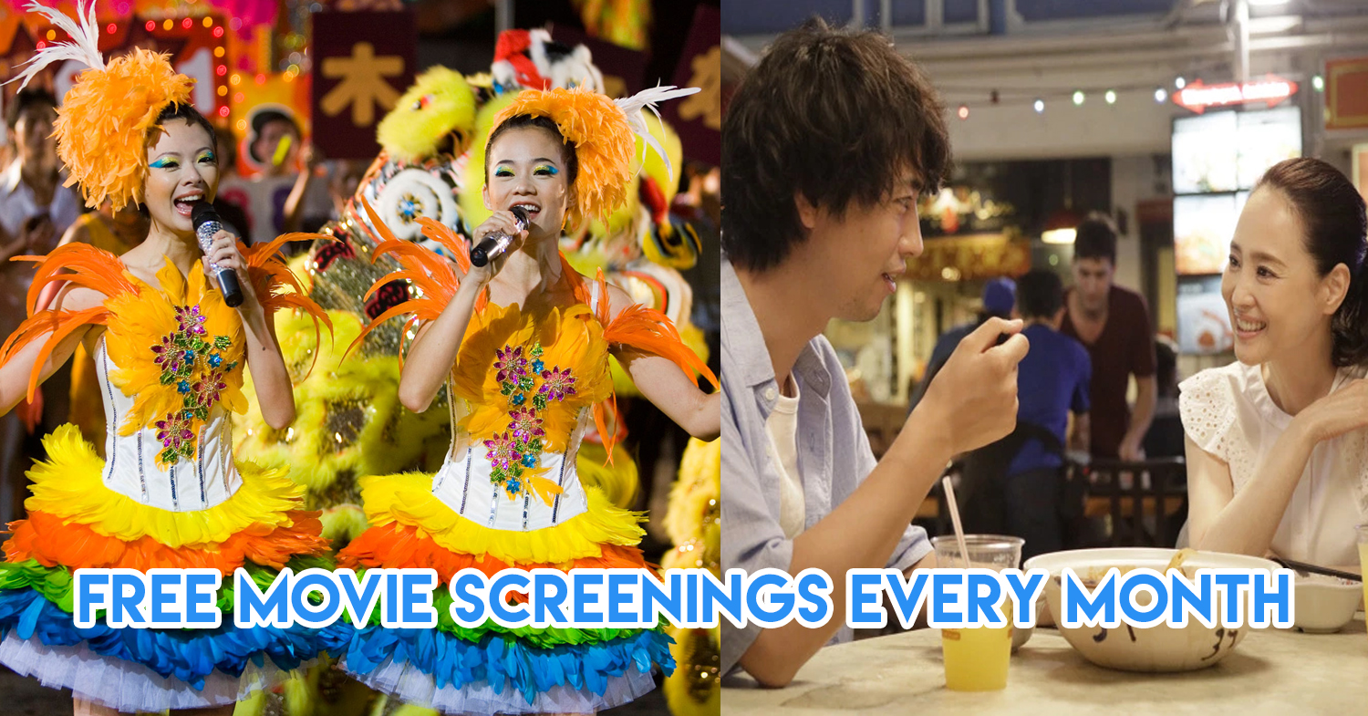 5 Free Upcoming Movie Screenings In Singapore With Popcorn, Cotton Candy & Food Trucks