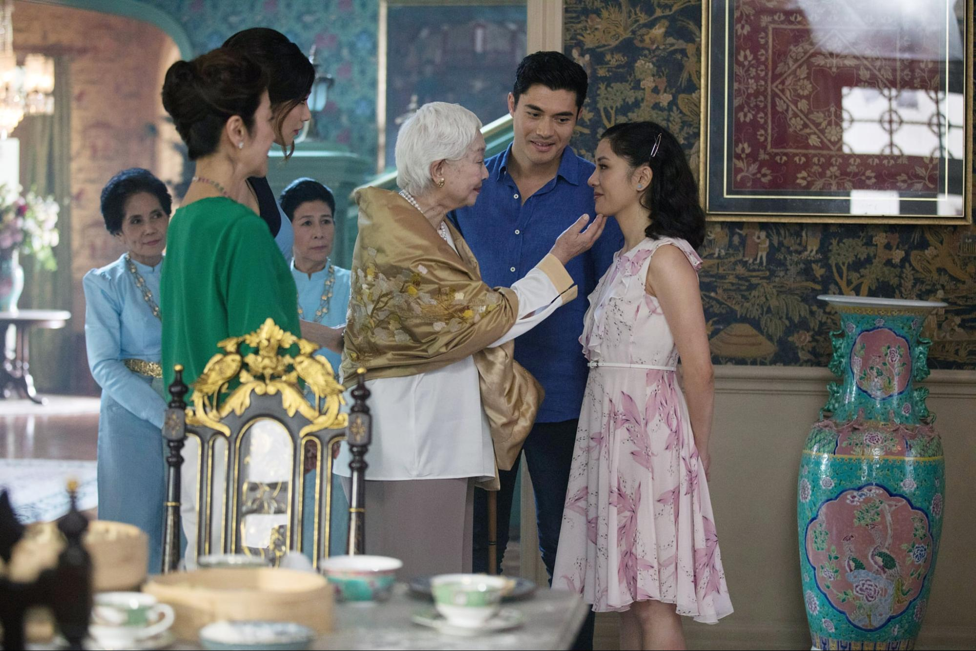 Crazy rich asians shang su yi lisa lu