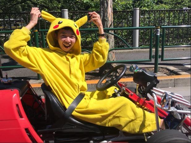 Go kart cosplay Akihabara
