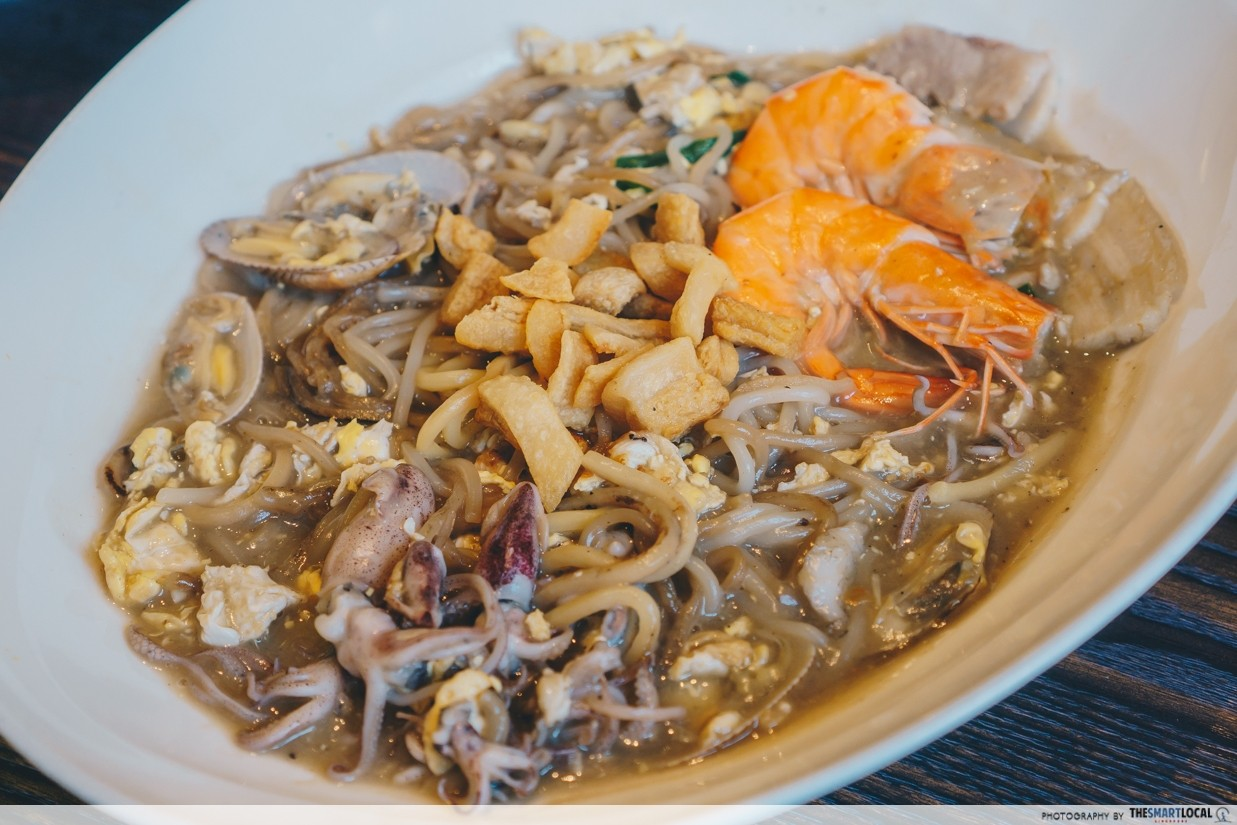 CHIJMES weekday lunch promo - New Ubin Seafood