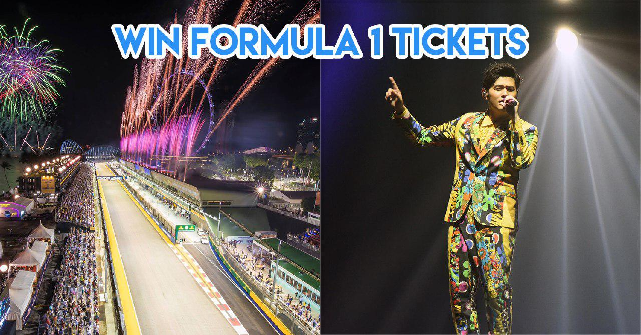 4 Things To Check Out At F1 2018 & How You Can Win A Pair Of Tickets