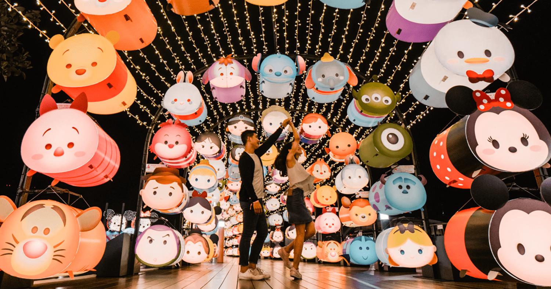 VivoCity Has A Disney Tsum Tsum Themed Mid-Autumn Fest With Over 2,000 Lanterns