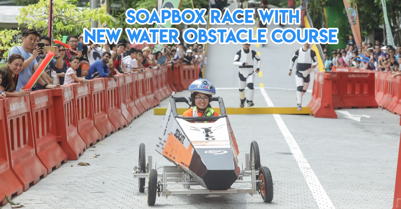RACE.EAT.PLAY Is Back With Soapbox Races, Edible Helium Balloons & A Laser Tag Drone Shootout