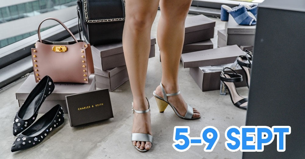 Charles & Keith's Flash Sale Has 50% Off On Women's Shoes, Bags and Accessories For Just 5 Days