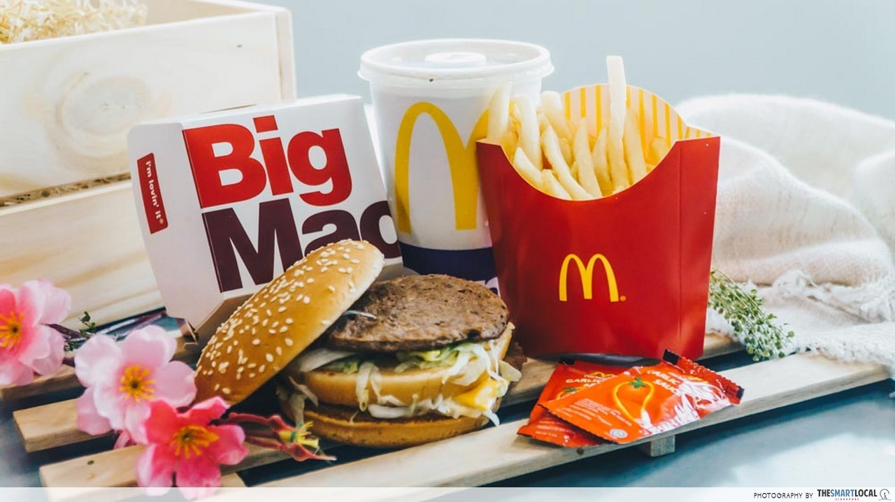 Grab a Big Mac Extra Value Meal at $5.50