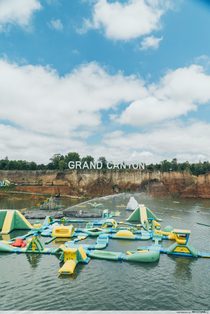 grand canyon chiang mai inflatable floats