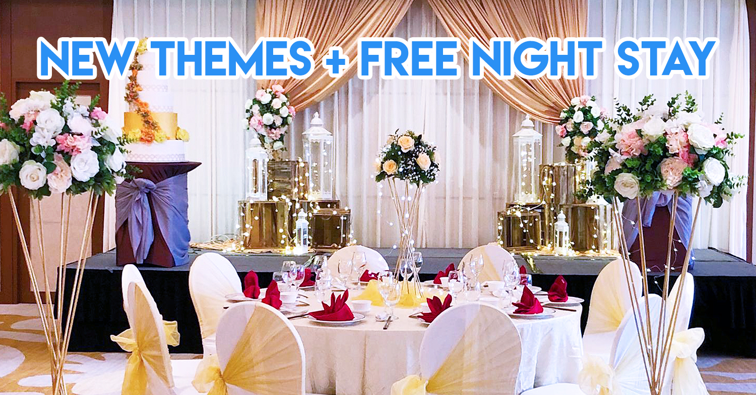 Holiday Inn Singapore Atrium - Wedding Venue From $938/Table So You Can Splurge On Your Honeymoon Instead