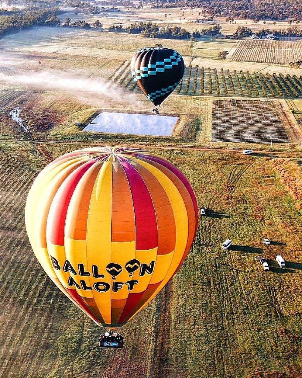 hot air balloon sydney jetabout