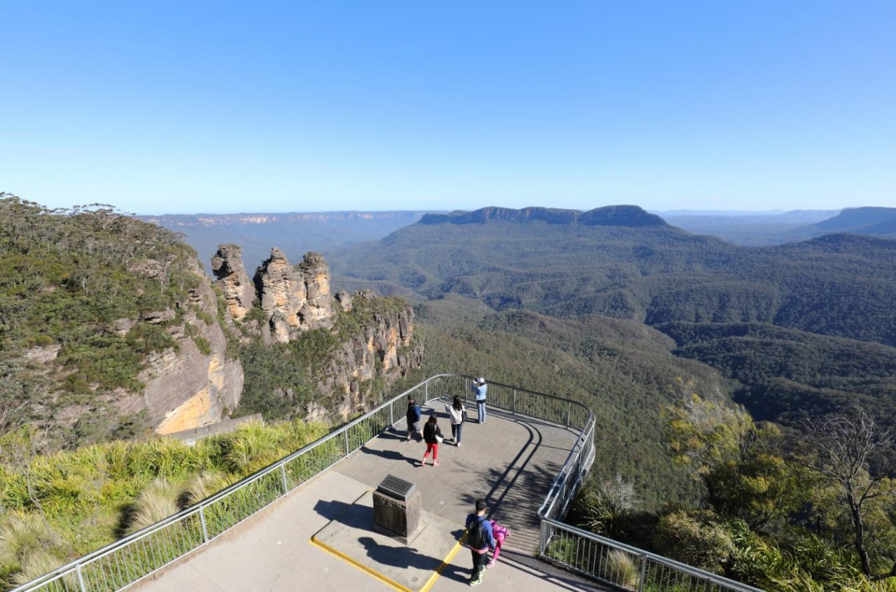 echo point lookout three sisters