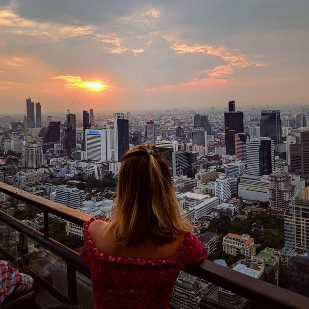 Rooftop bars in Bangkok - Moon Bar