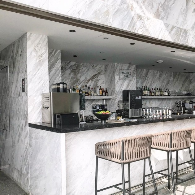 Rooftop bars in Bangkok - The Marble Bar