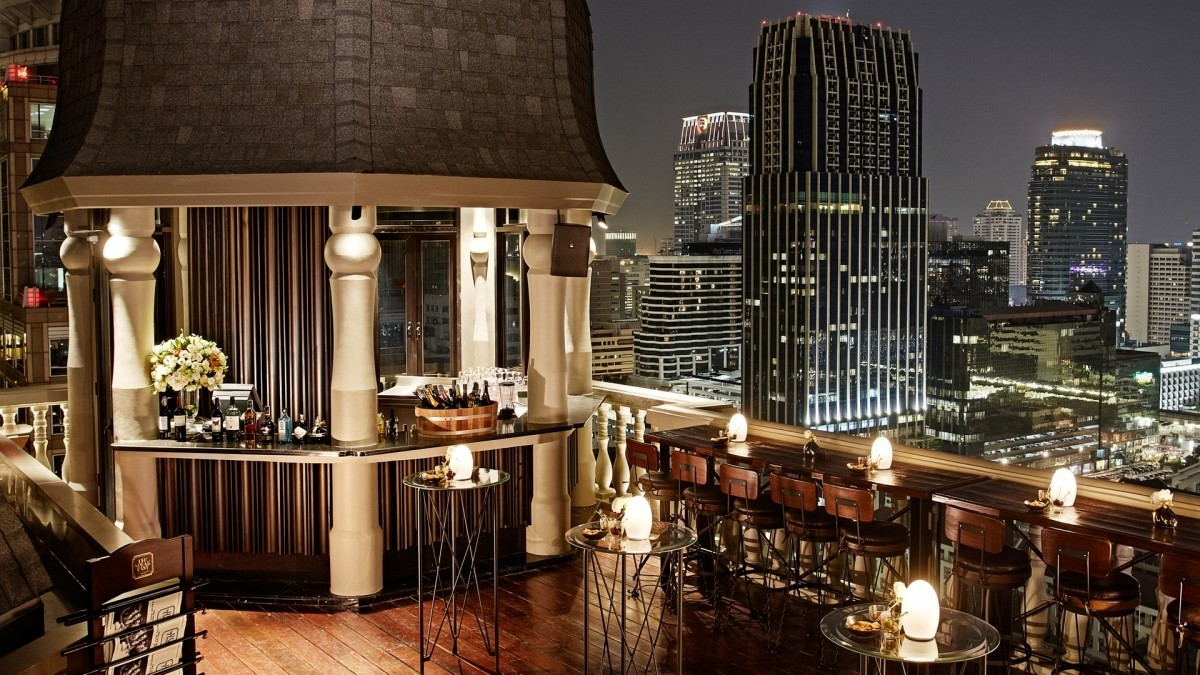 Rooftop bars in Bangkok - The Speakeasy Rooftop Bar
