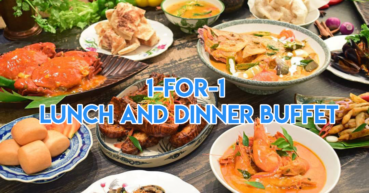 Singapore Golden Week Sale - 1-for-1 Buffets, Free Hair Treatments, And Up To 70% Off Shopping Deals