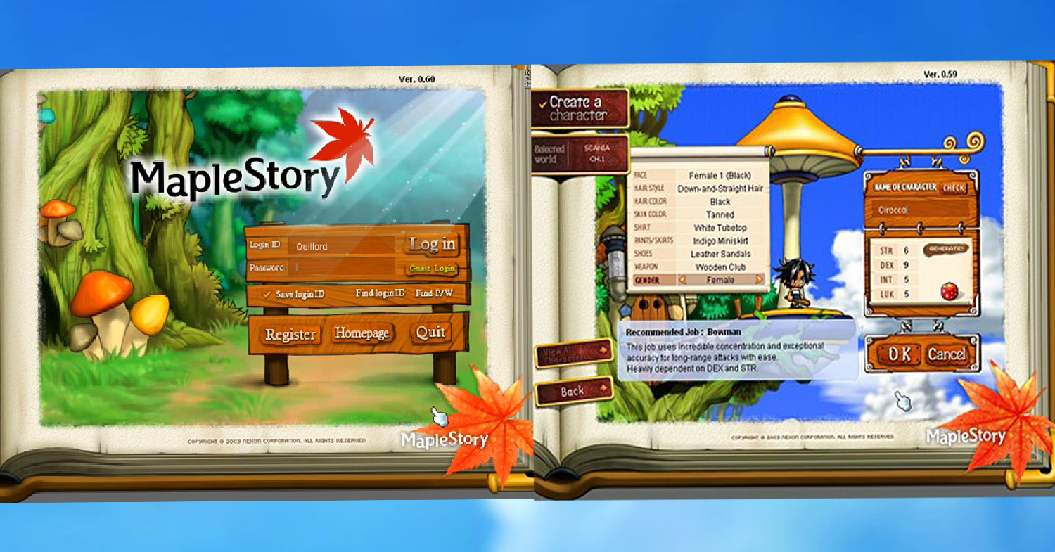 10 MapleStory Memories Every 90's Kid Experienced Which Can't Be Found In The New App Version