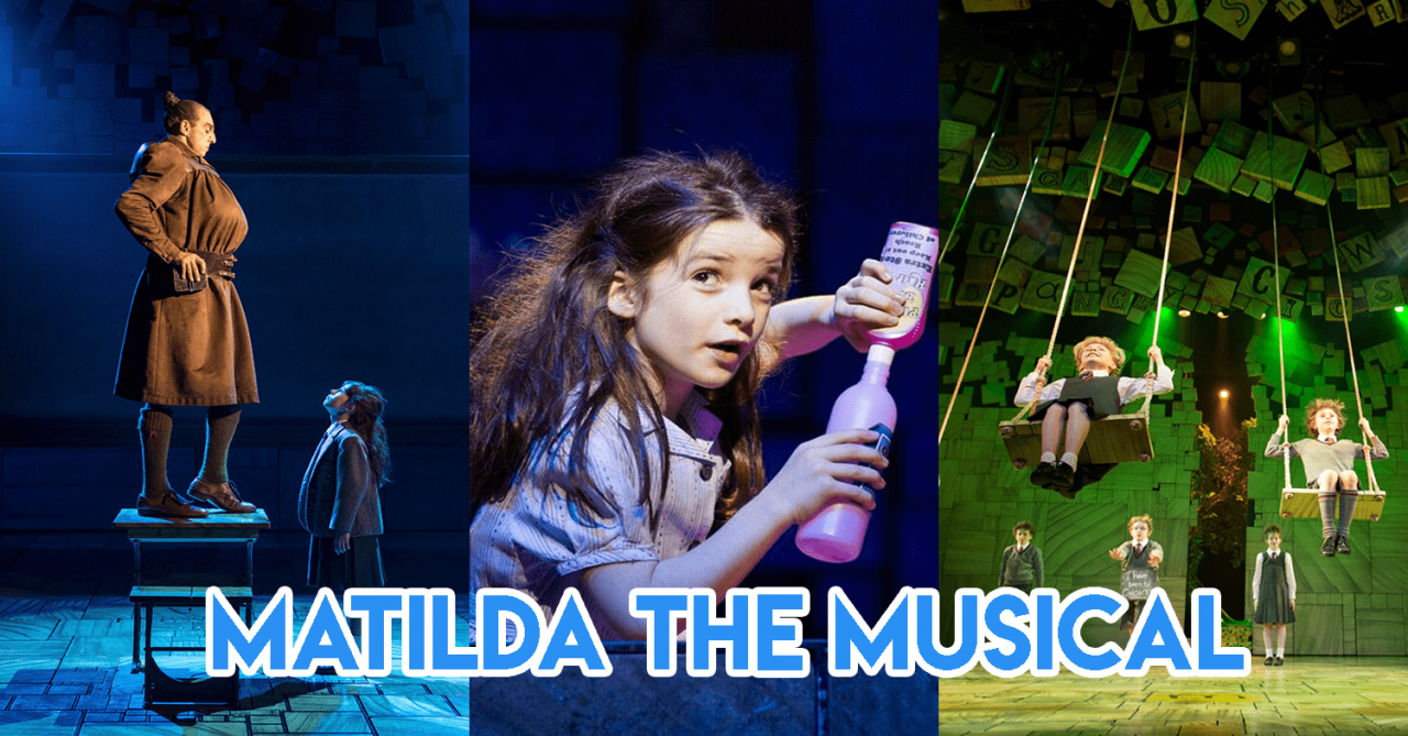 Matilda The Musical Is Here For The First Time In Asia For Roald Dahl Fans