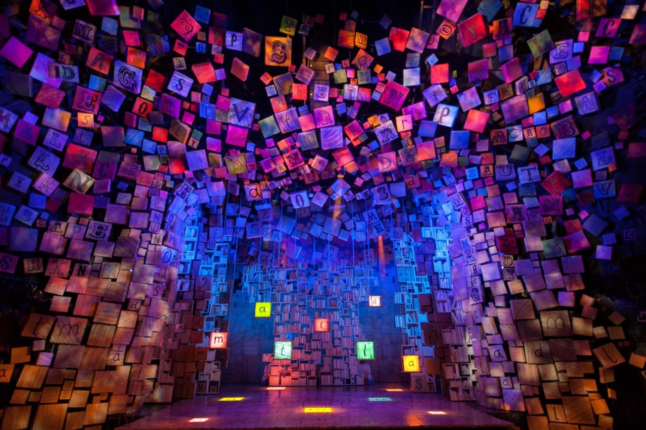 matilda stage sets