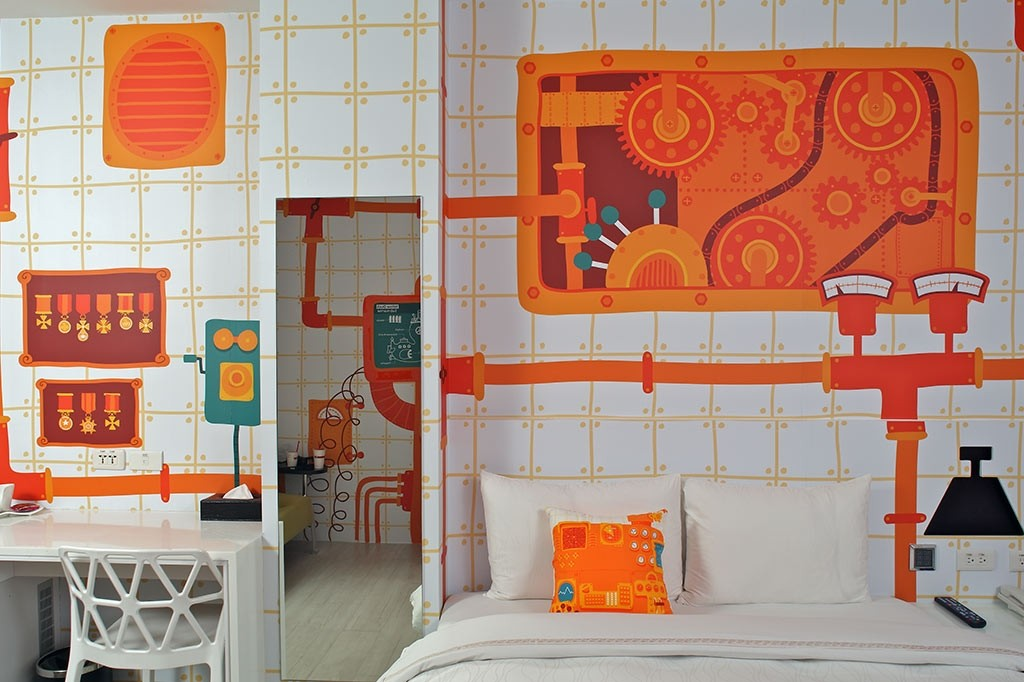 10 hotels in taipei near shopping districts from 65 night for Design hotel ximending