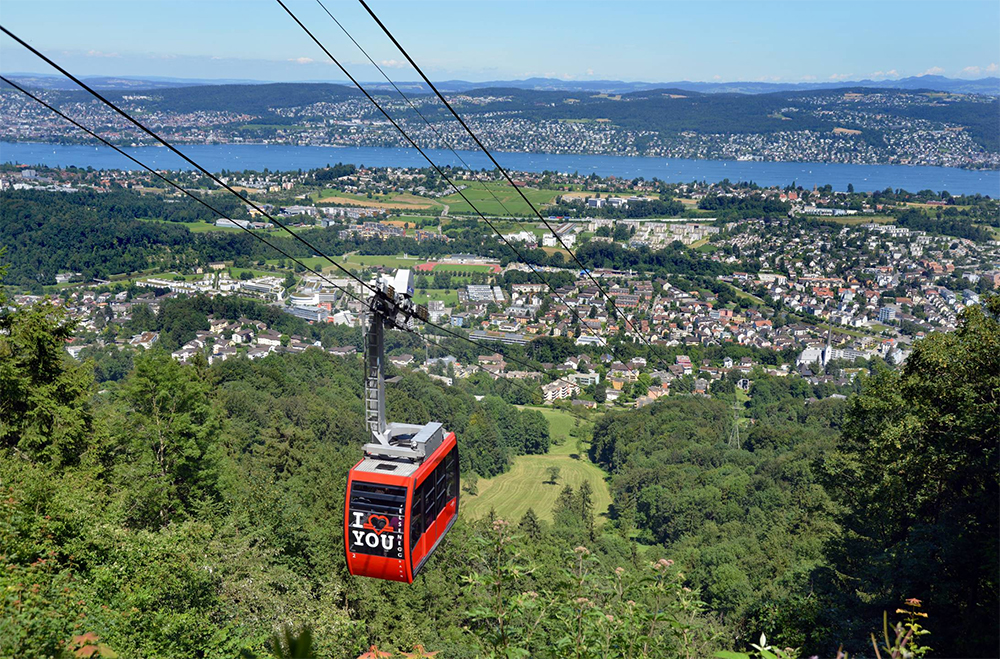 FELSENEGG CABLE CAR ZURICH