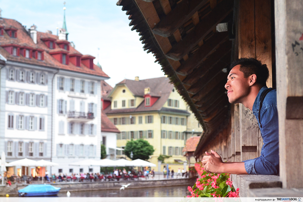 Lucerne Bridge View