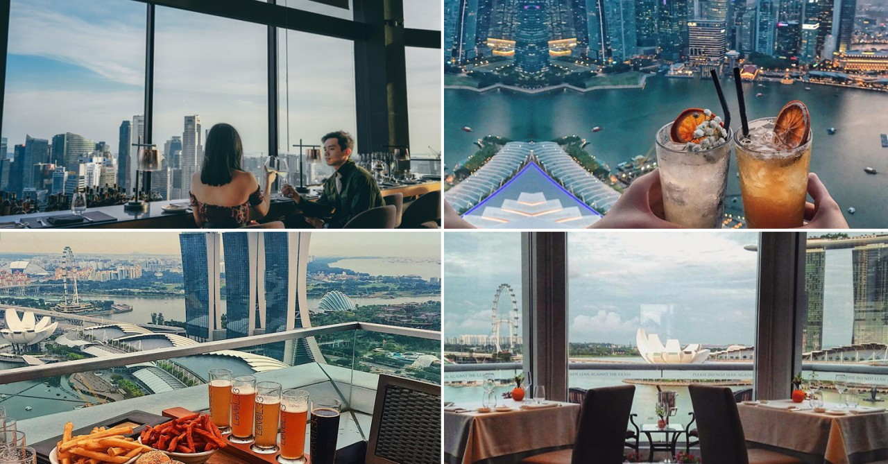 10 Restaurants With Unblocked Views Of Singapore To Impress Your Date
