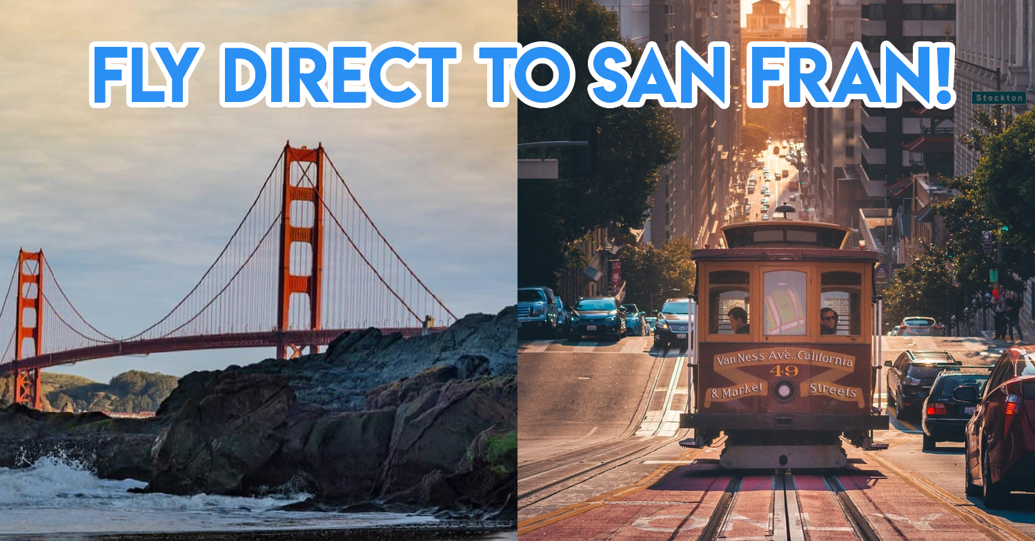 United Airlines Flies Non-Stop To San Francisco Twice Daily So You Can Arrive At The Best Timing