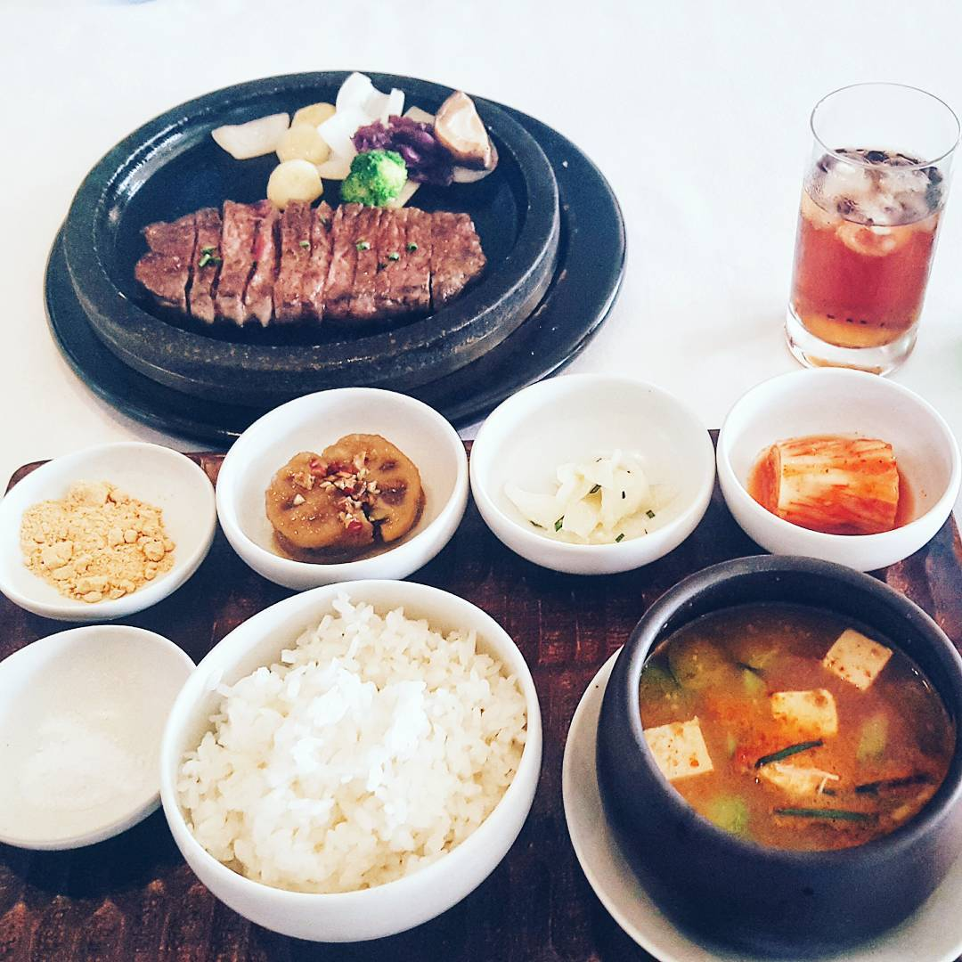 Seoul Restaurants view Korea - mugunghwa beef food menu lotte hotel