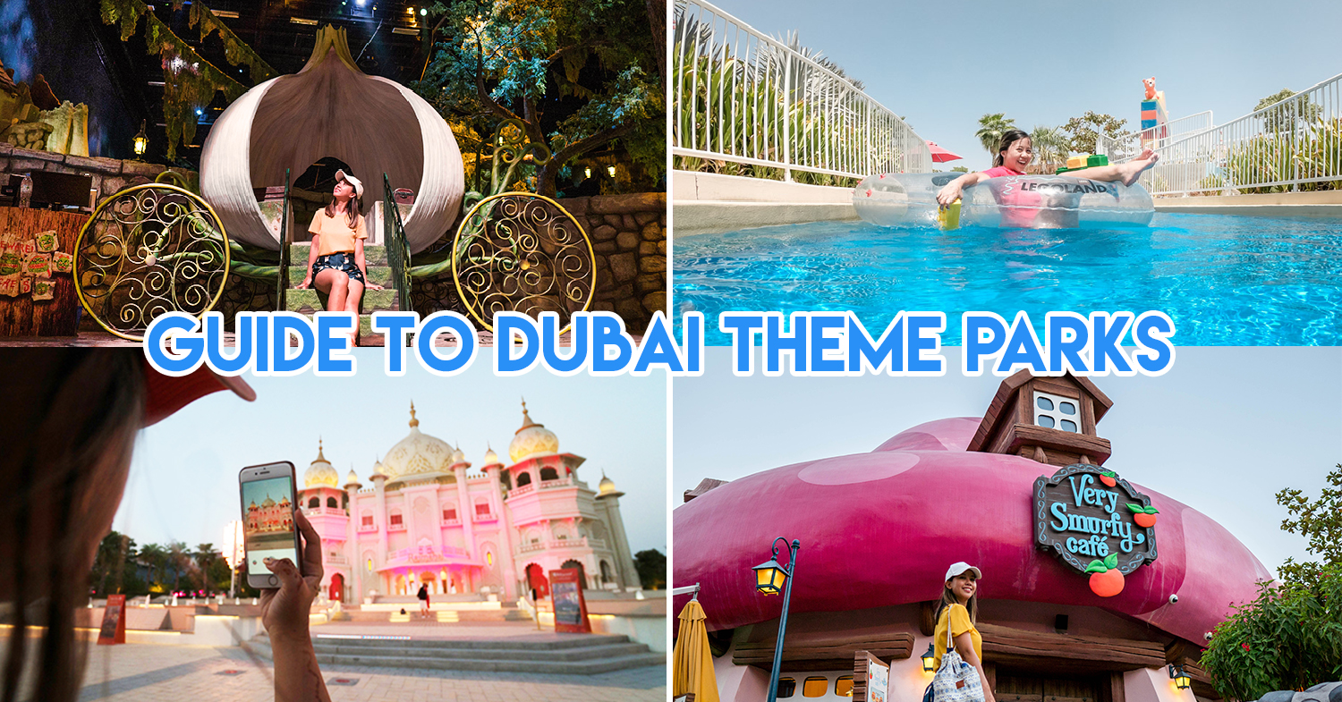 Dubai Theme Park Guide -  Legoland, Motiongate and Bollywood's Best Rides And Attractions