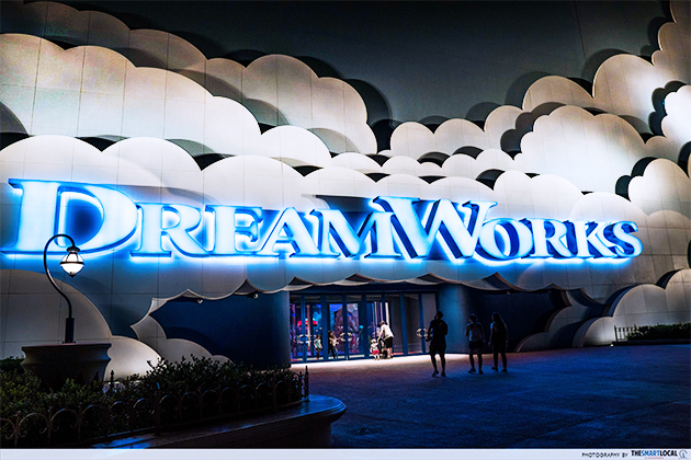 motiongate dreamworks entrance