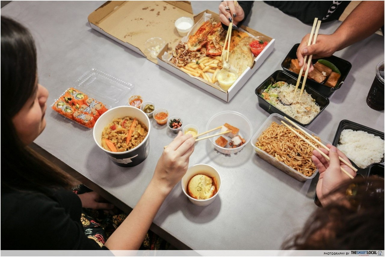 Things Singaporeans find annoying - late food delivery