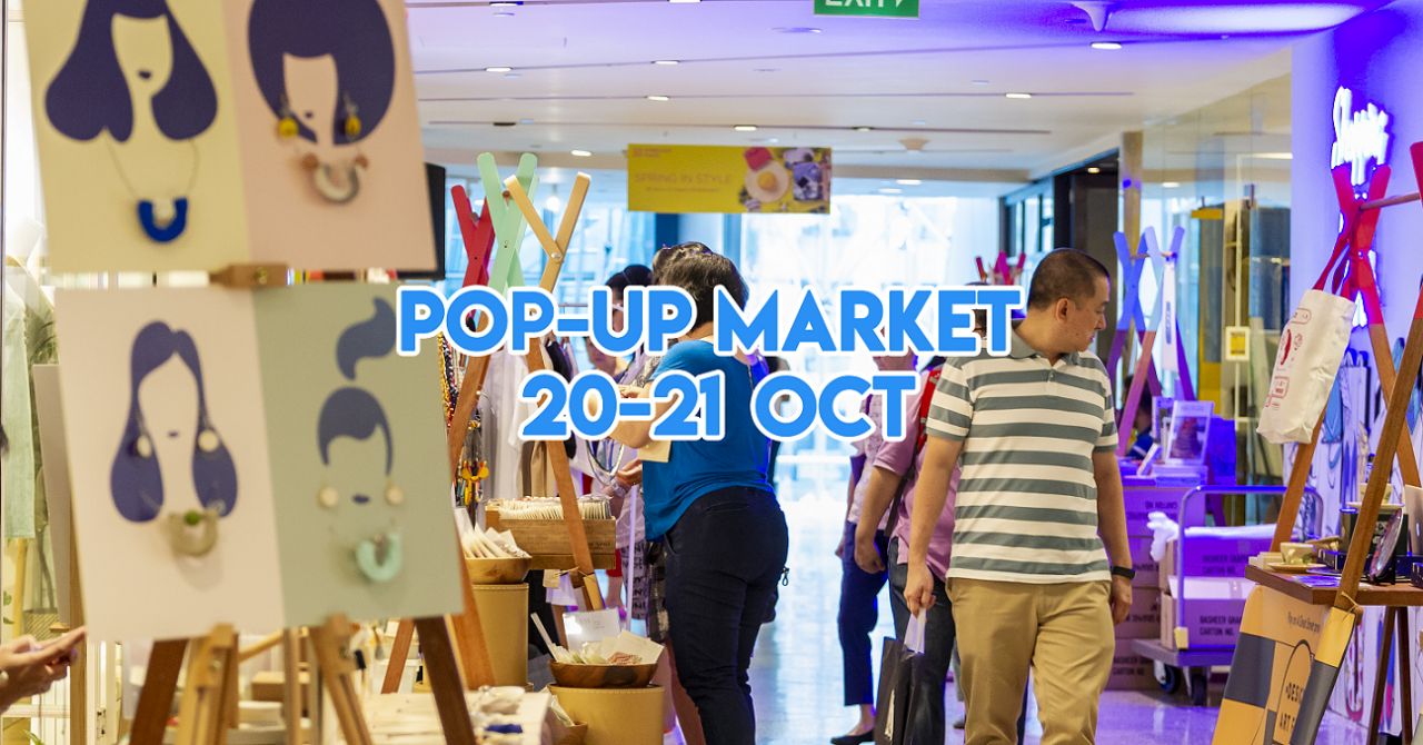 Wheelock Place Has A Pop-Up Market With Personalisation Services On Almost Everything