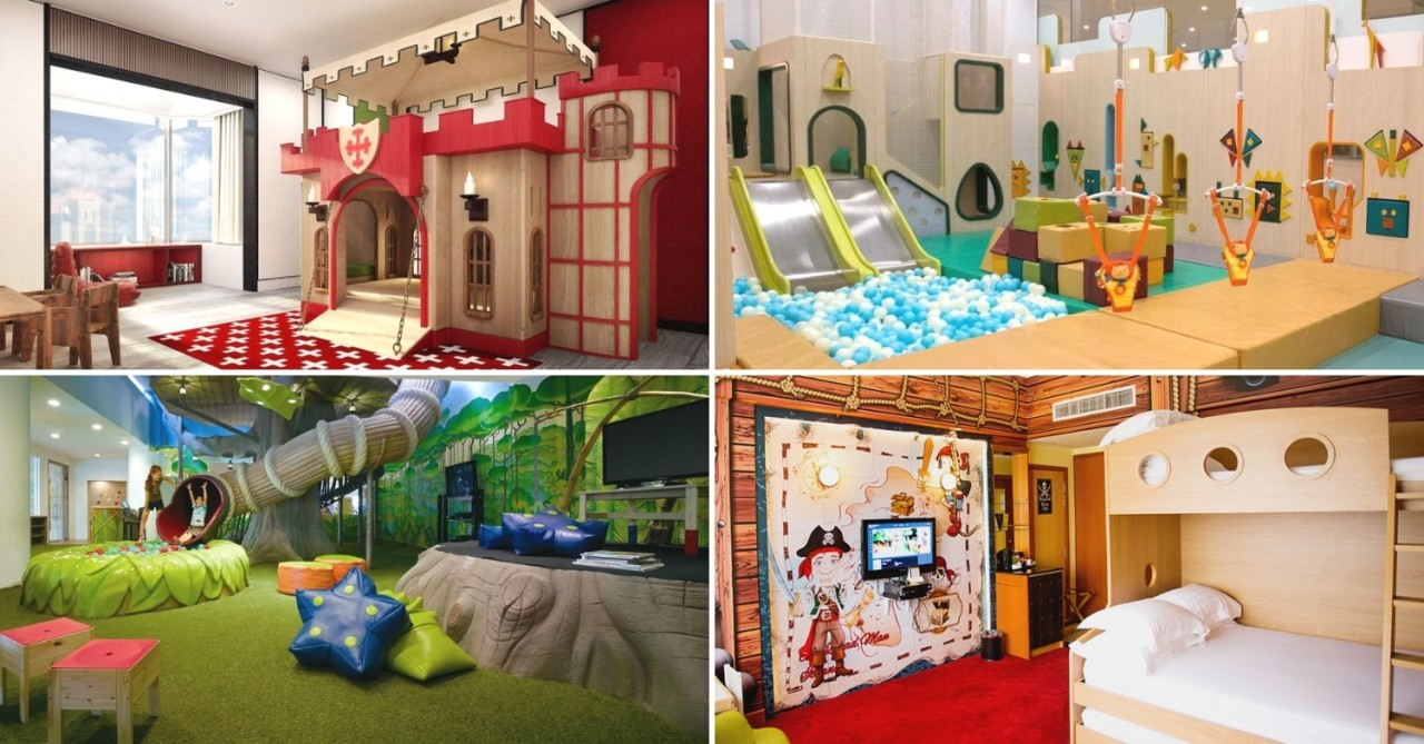 8 Kid-Friendly Hotels For Family Staycations In Singapore - Cartoon-Themed Rooms, Free Ice Cream, & Poolside Movies