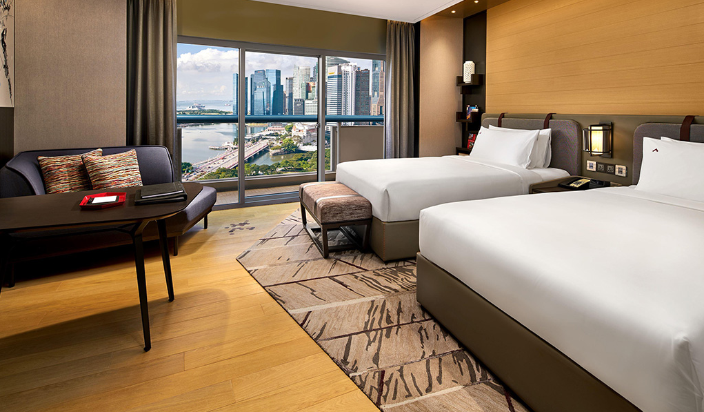 vertical marathon swissotel the stamford 2018 - prizes staycation room