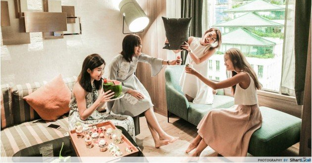 8 Hotels With Spa & Staycation Packages For Your Hen's Night Party In Singapore