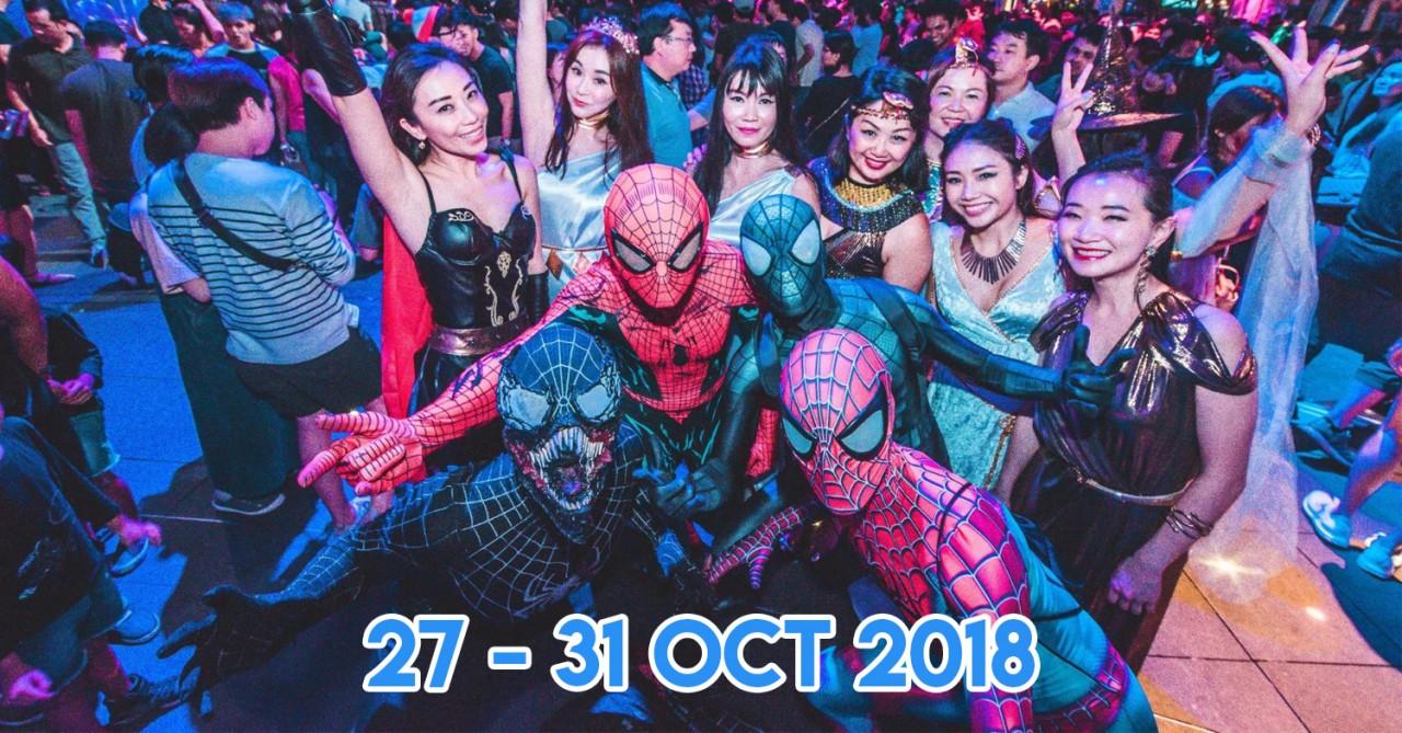 Clarke Quay This Halloween Has VR Zombie Survivals, Costume Contests And Activities For Families