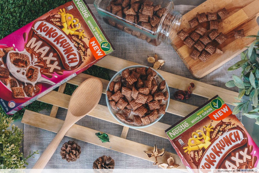 Koko Krunch Now Has A New Version With A Chocolatey Centre & Singapore's The First To Have It