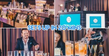 Drinks&Co Has A Pop-up Mobile Bar Service To Take Your Parties To The Next Level