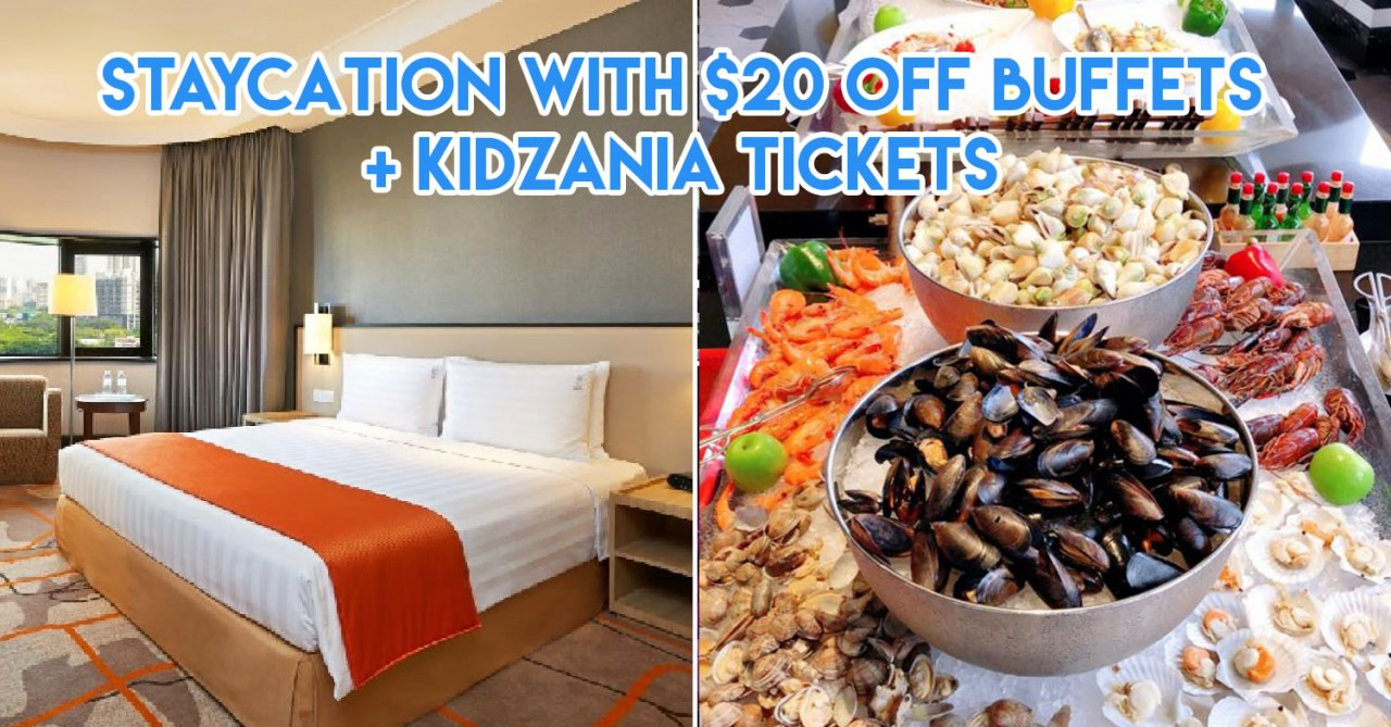 Holiday Inn Singapore Atrium's Halloween Staycation Package - Late Check-Out, Dining Credits & Free KidZania Tickets