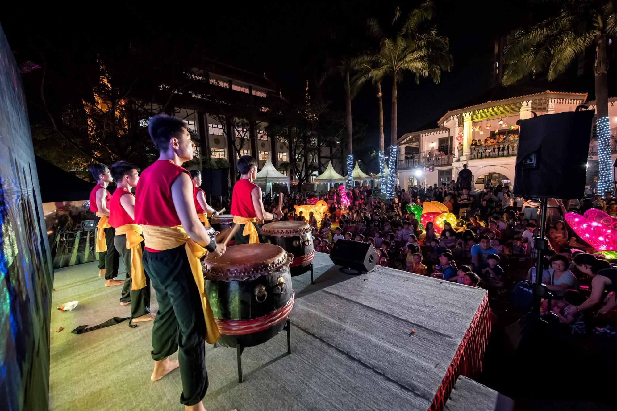 Wan Qing CultureFest 2018 - traditional drum performance