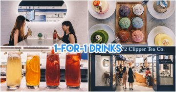 1872 Clipper Tea At ION Has Been Revamped With A Seating Area & 1-For-1 Opening Promos
