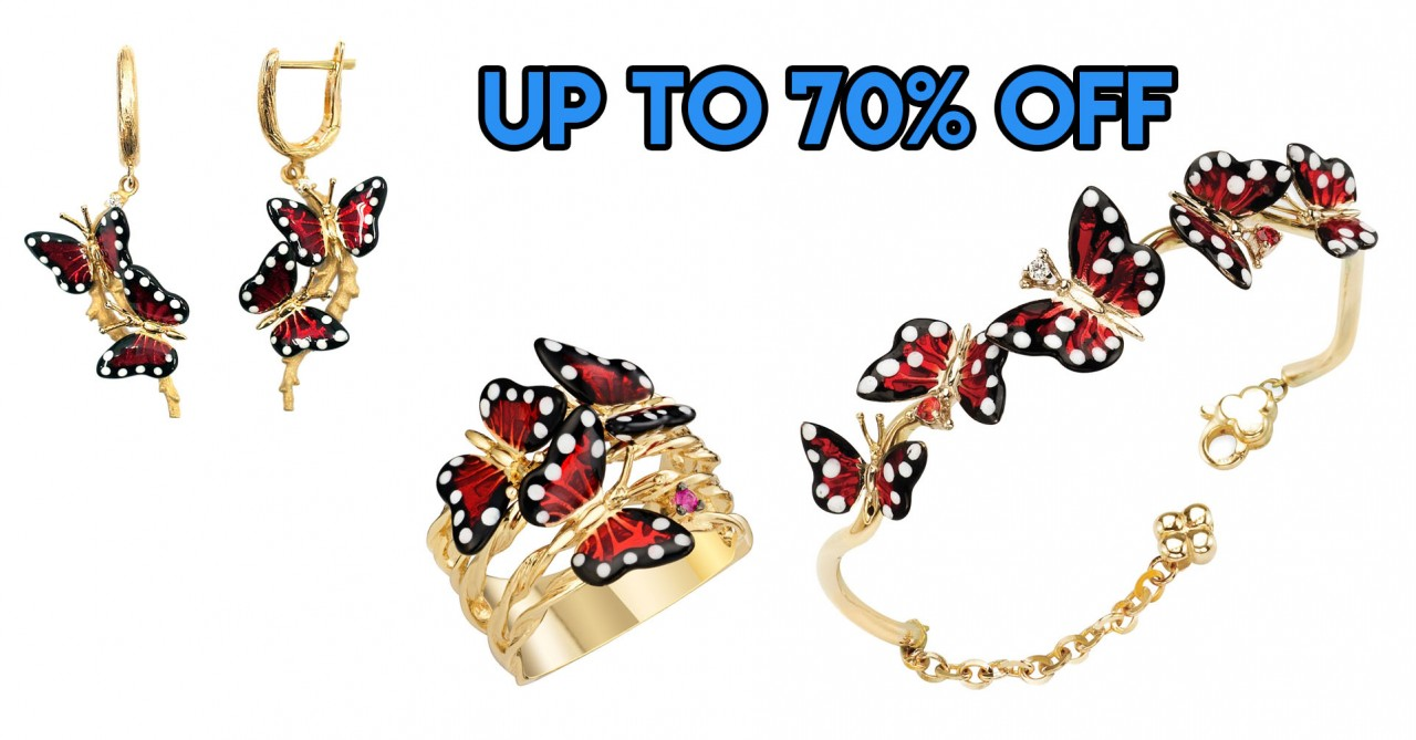Goldheart Is Having Their Biggest Annual Sale From 3-6 Nov With Jewellery At Up To 70% Off