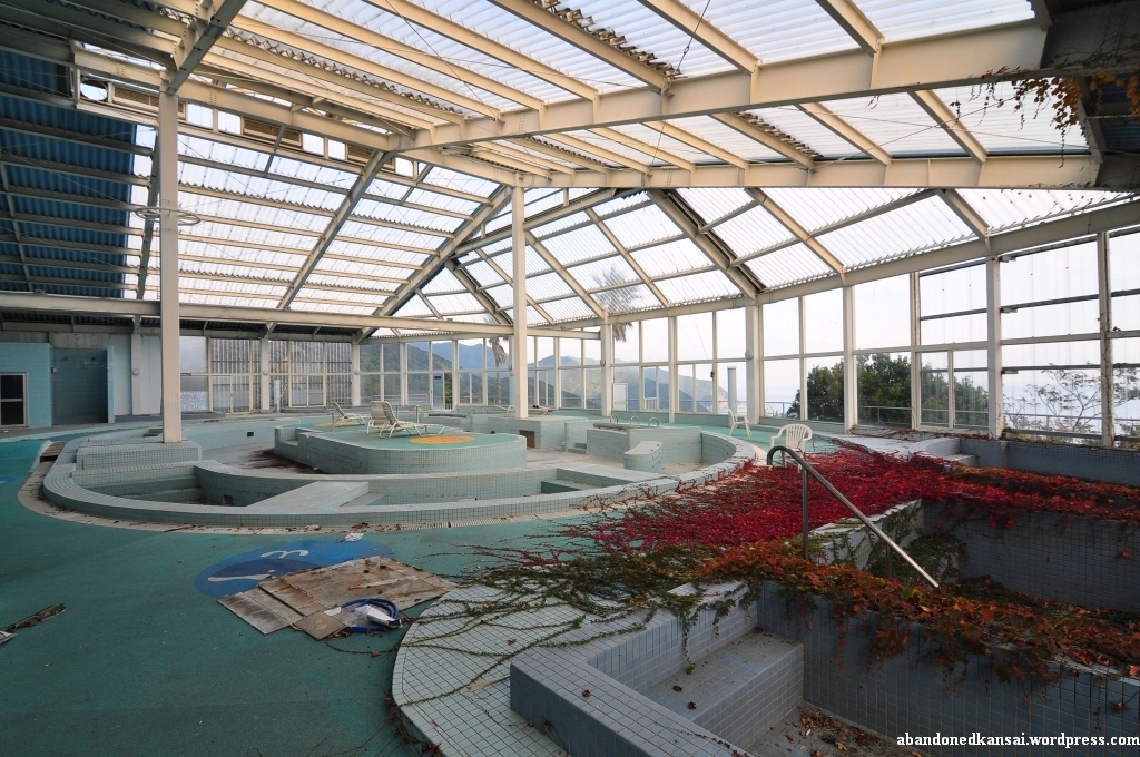 Tokushima Countryside Healthspa abandoned places in japan