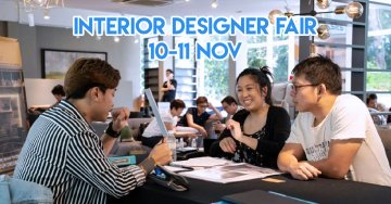 Renonation Has An Interior Design Fair For New Homeowners And Your Grab Ride Will Be Covered
