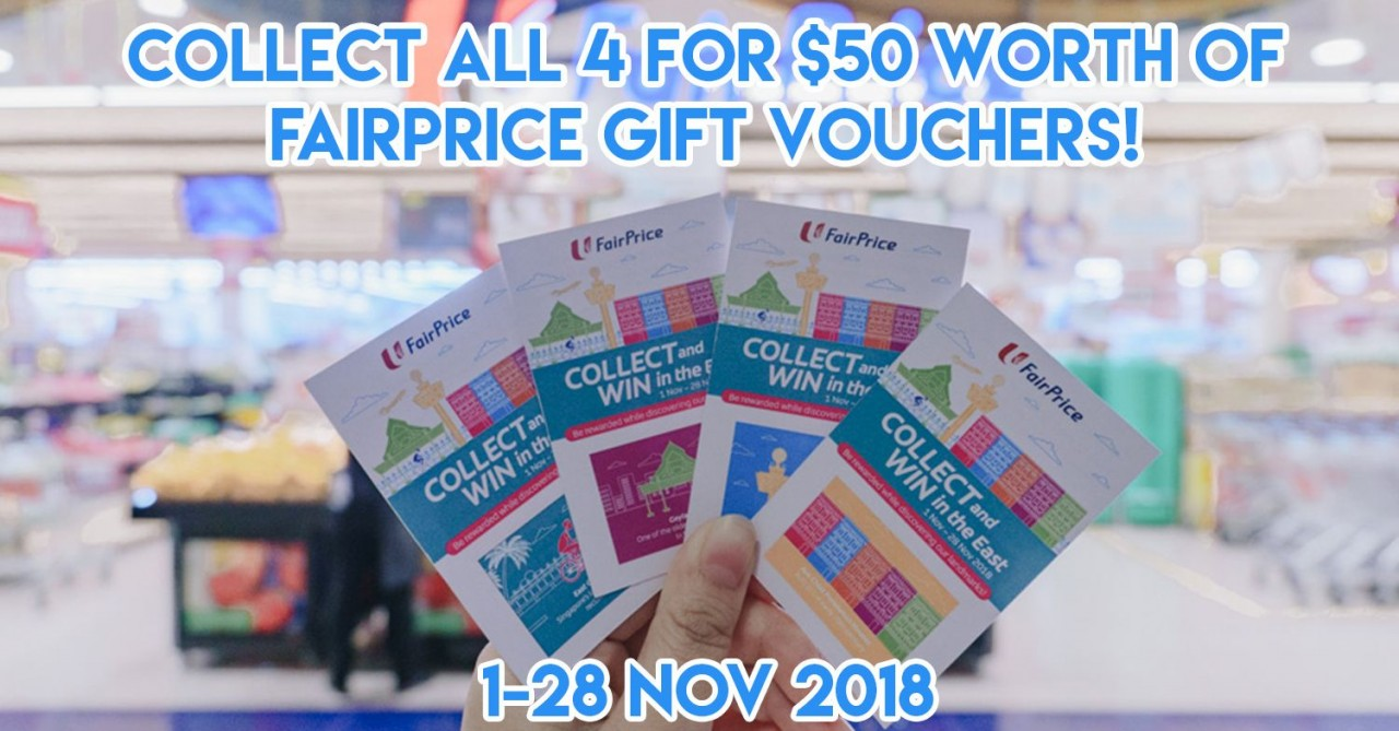 FairPrice Outlets In The East Have A Promo That Lets You Win $50 FairPrice Gift Vouchers When You Spend $30
